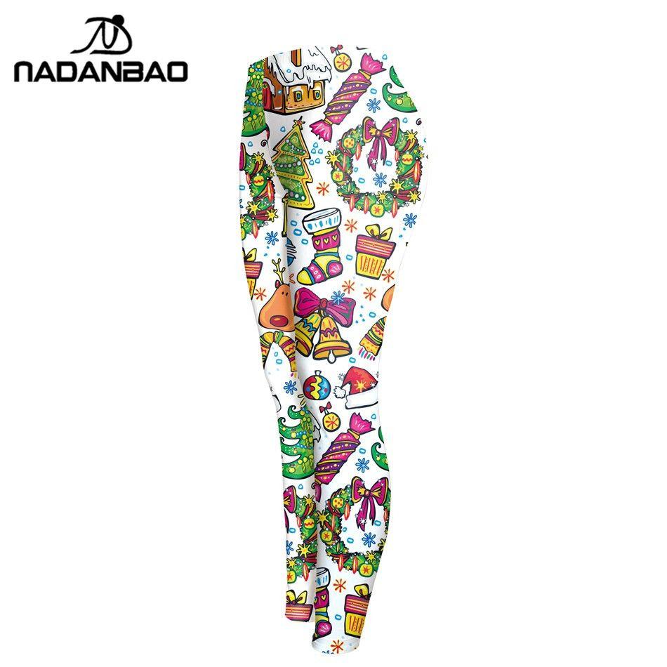 860ae6cba4050 New Arrival Leggings Christmas Printed Women Legging Fitness Leggins  Fashion Legins High Waist Slim Women Pants