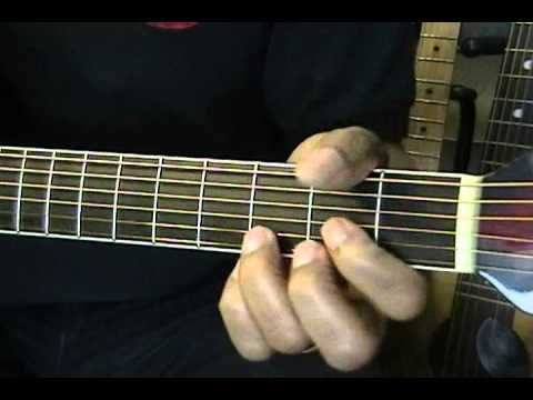 Guitar Close Up How To Play Easy A to B Major Guitar Chord ...