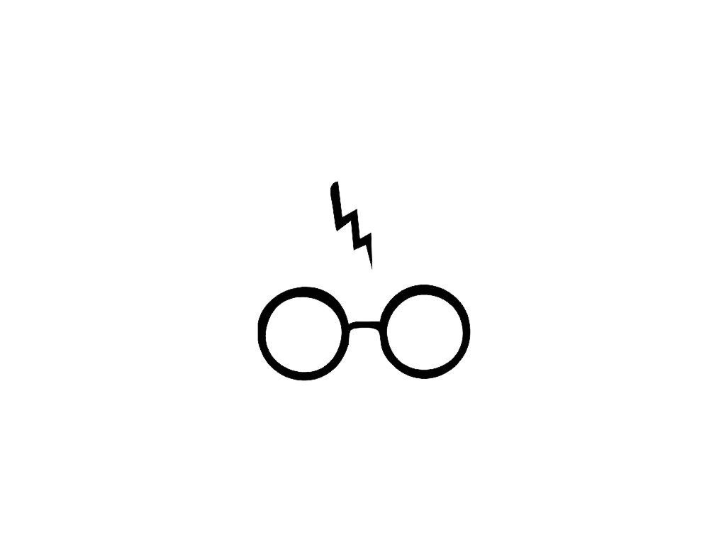 Reserved For Ashleighhall95 Harry Potter Glasses And Scar Vinyl