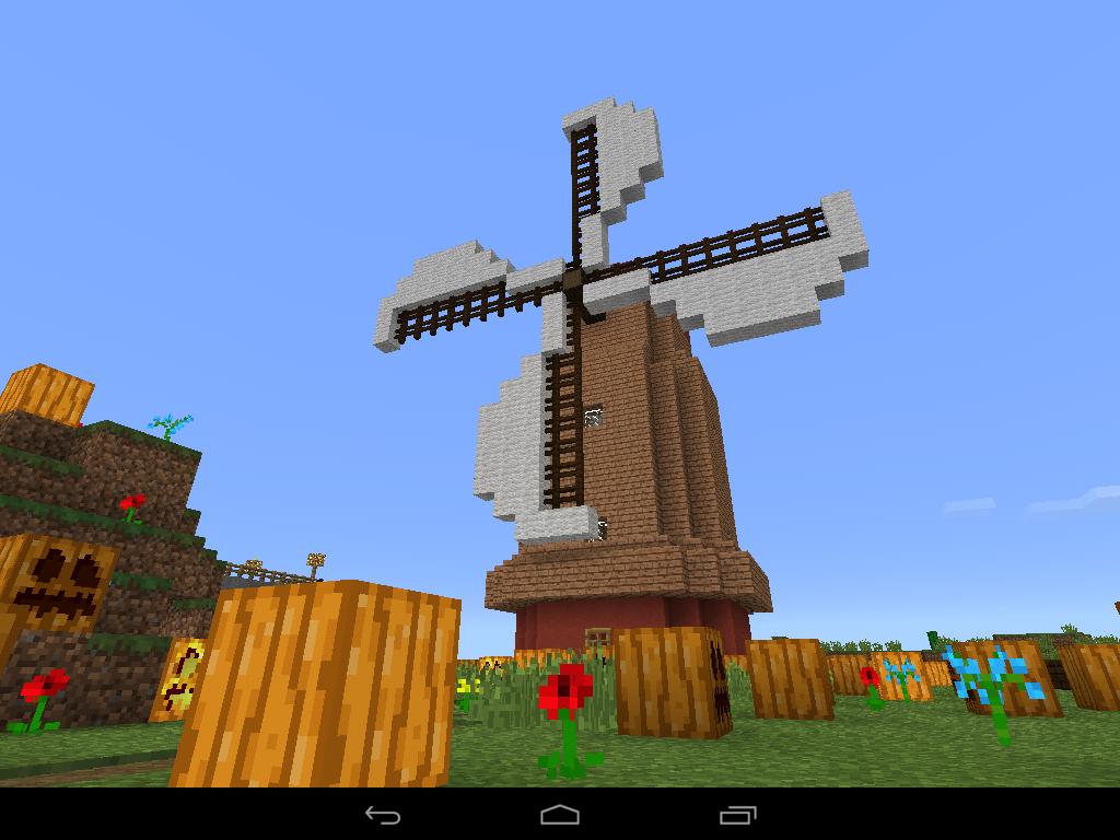 Molino De Viento Simple Wind Mill