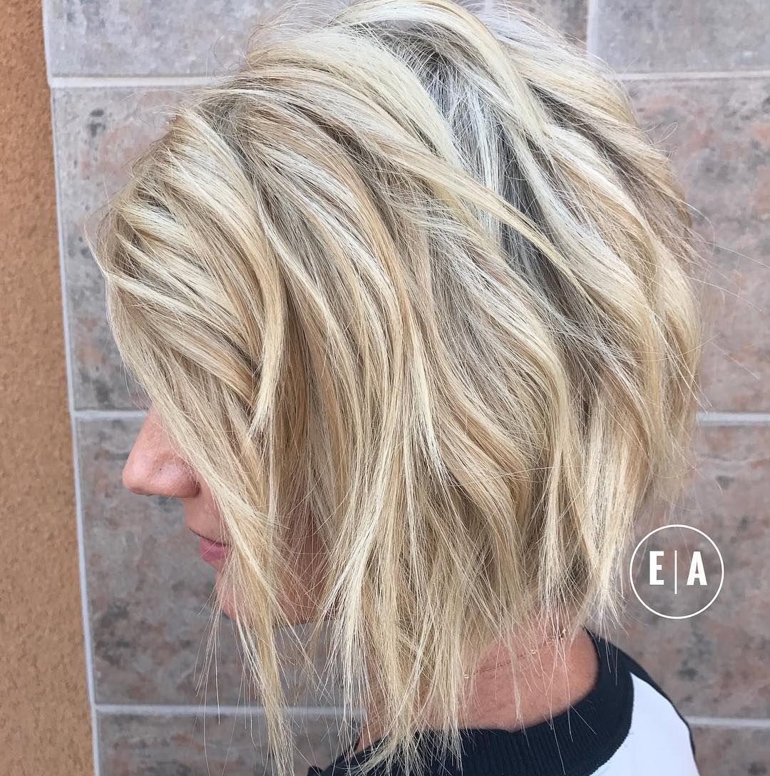 10 Lob Haircut Ideas – Edgy Cuts & Hot New Colors //
