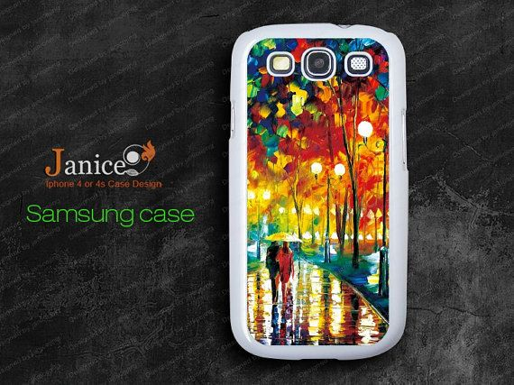 rain road design  Samsung Galaxy S3 case Case by janicejing, $8.39