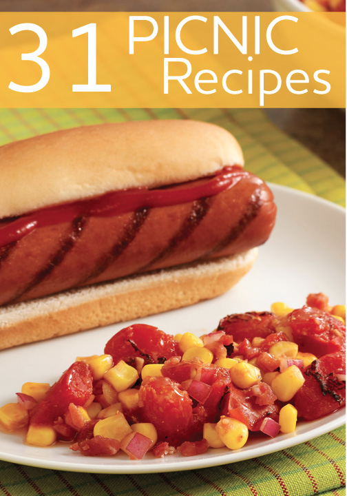 Have a picnic dinner before the summer is over! Try these 31 different recipes.
