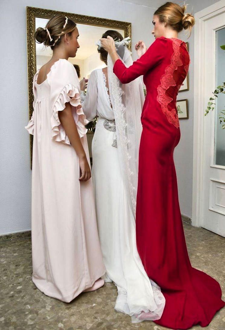 Vestidos de boda para hermanas de la novia