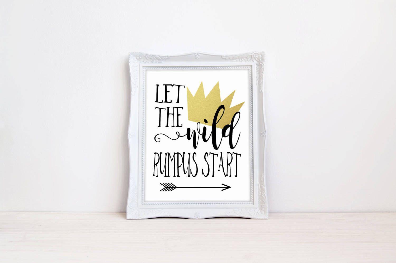 graphic regarding Let the Wild Rumpus Start Printable named Allow for The Wild Rumpus Start out 8\