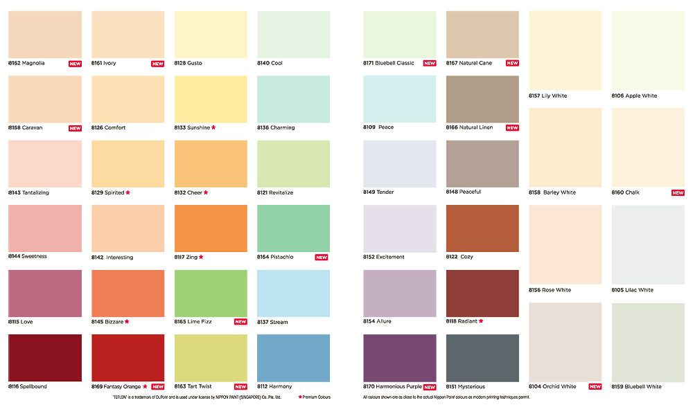 Take risk with these 5 wall paint colour names for a ...