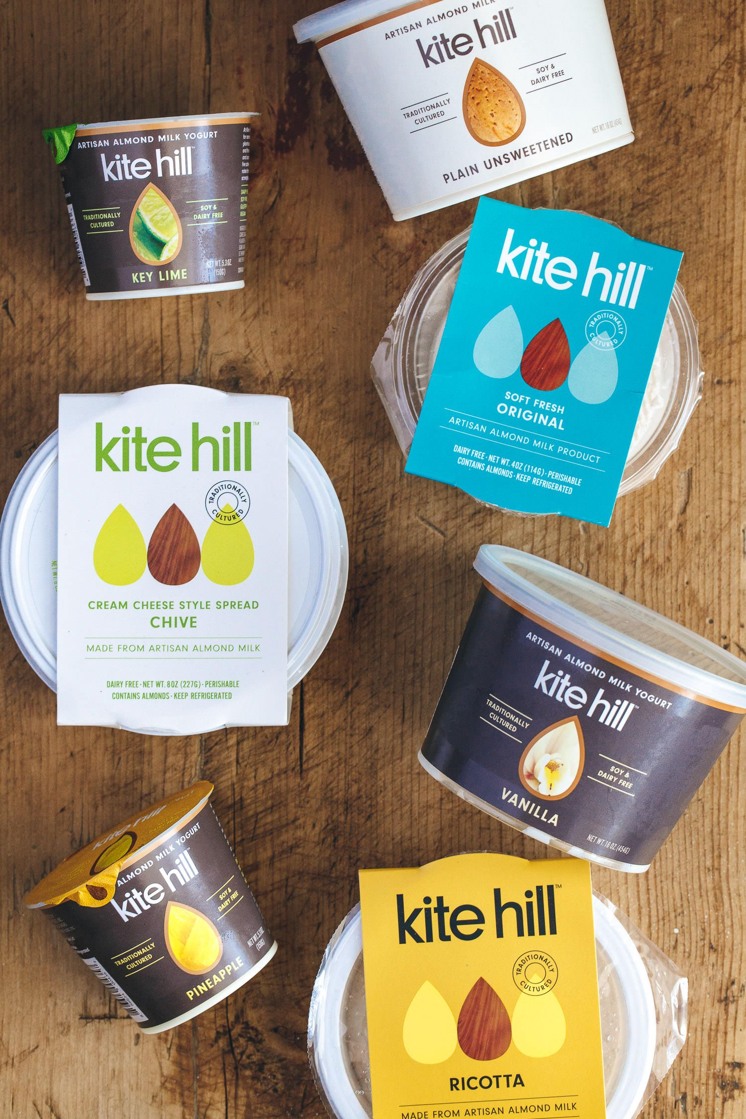 Kite Hill Vegan Cheese Yogurt Review Giveaway Vegan Miam Cream Cheese Spreads Almond Milk Yogurt Cheese Packaging