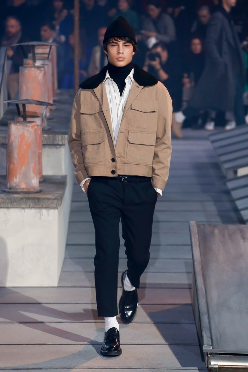 Ami   Menswear  Autumn 2018   Look 24 is part of Fashion - BoFW