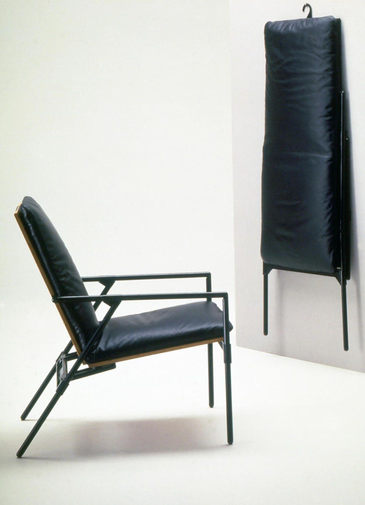 Richard Sapper Nena 1984 Folding Armchair Chair Design Furniture Design Chair