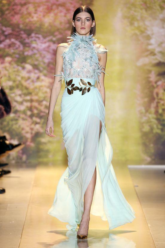 Robe - Zuhair Murad - Haute Couture - Printemps/Été - 2014