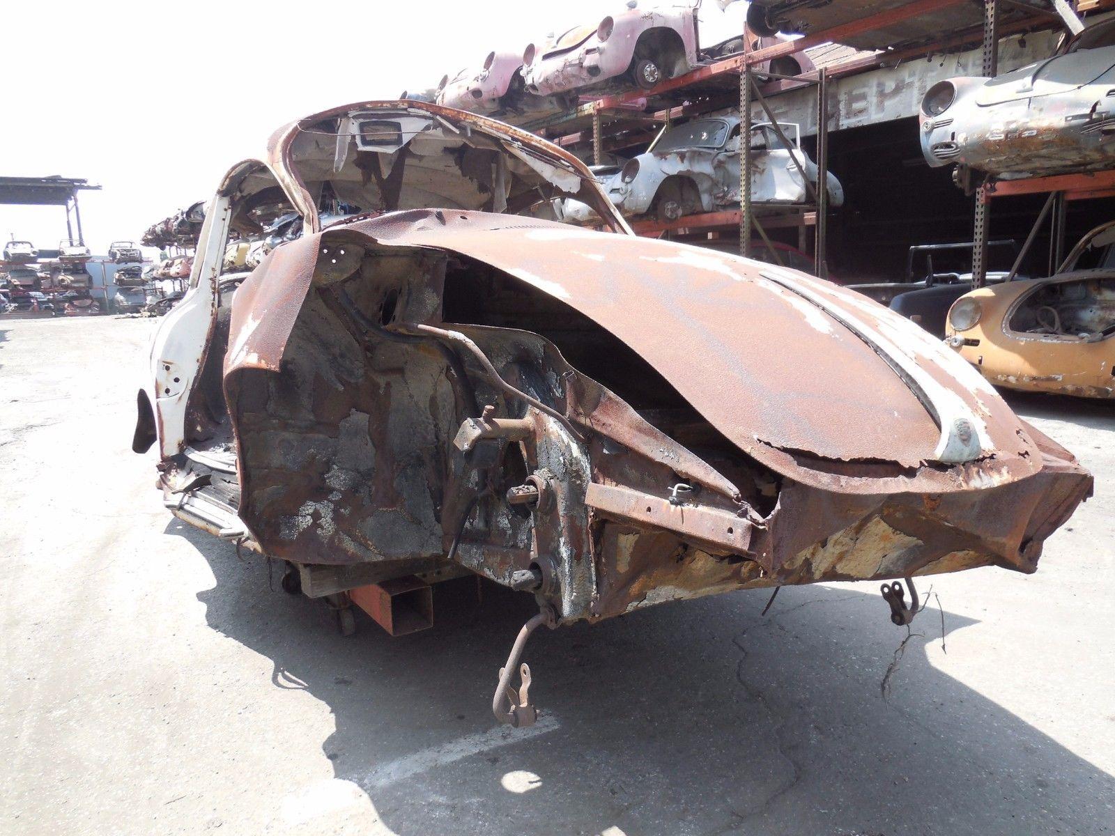 Missing engine 1963 Porsche 356 B S 90 Coupe Project