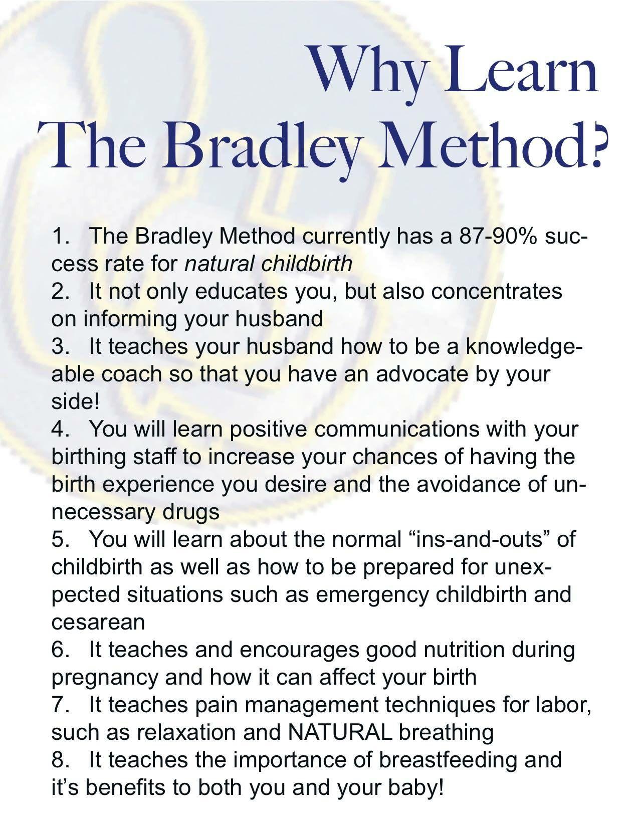 Pin On Natural Childbirth The Bradley Way