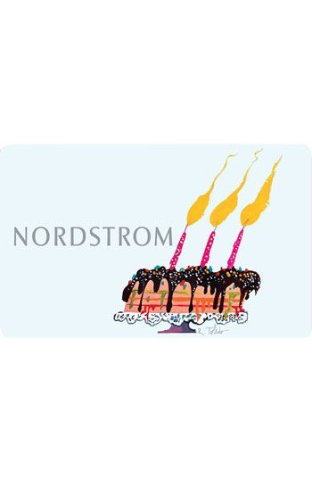 Nordstrom Birthday Treat Virtual Gift Card Available At