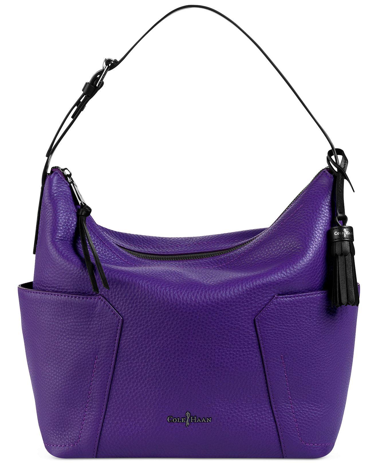03e0ecc81aa Cole Haan Handbag, Parker New Shoulder Bag | I Dream In Purple ...
