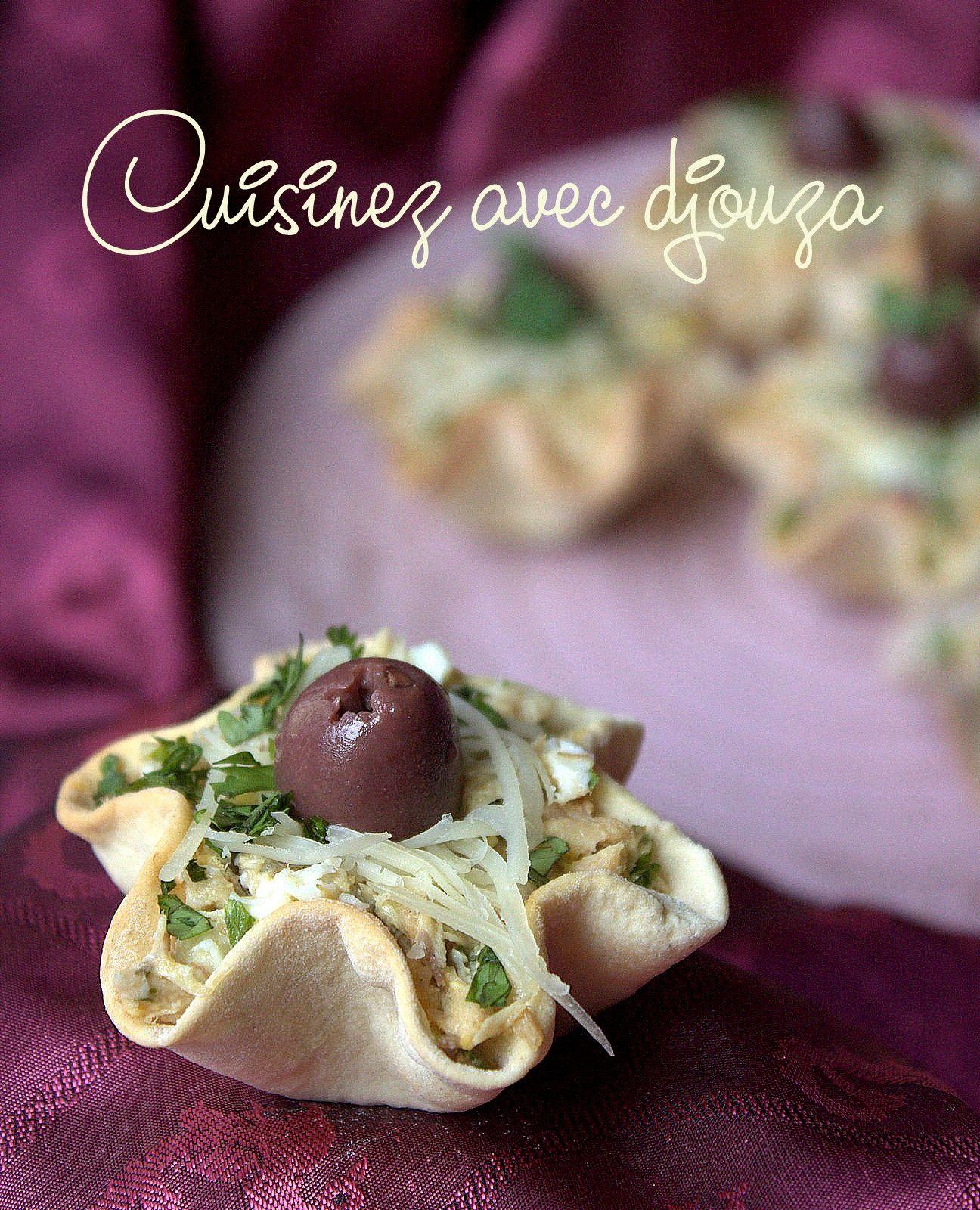 La Cuisine De Djouza: Salade Filet De Maquereau A La Moutarde
