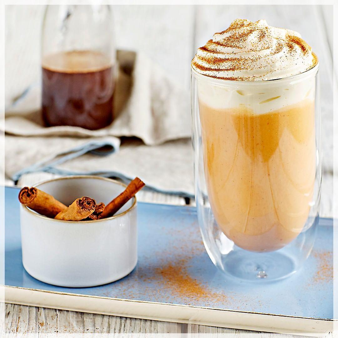 Onctueux épicé savoureux. Tout ce qu'il faut pour se faire plaisir en ce jour de novembre. (pumpkin spice latte... #recettenovembre