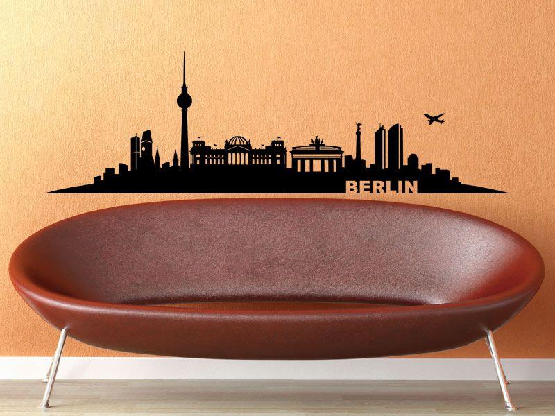 Wandtattoo Skyline Berlin   Wandtattoos.de