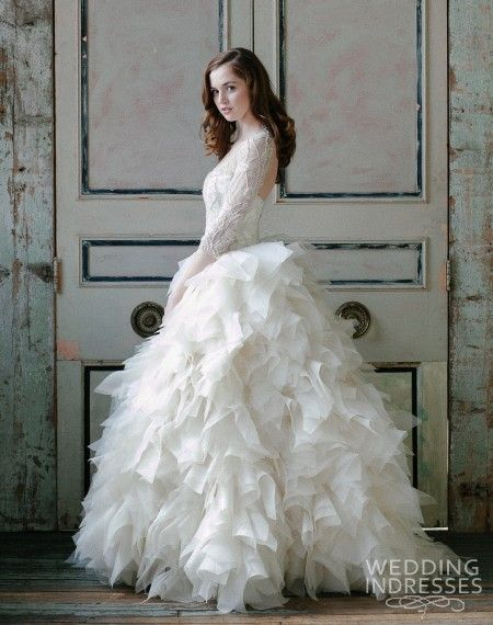 sareh-nouri-spring-2015-sawyer-sleeve-ball-gown-wedding-dress