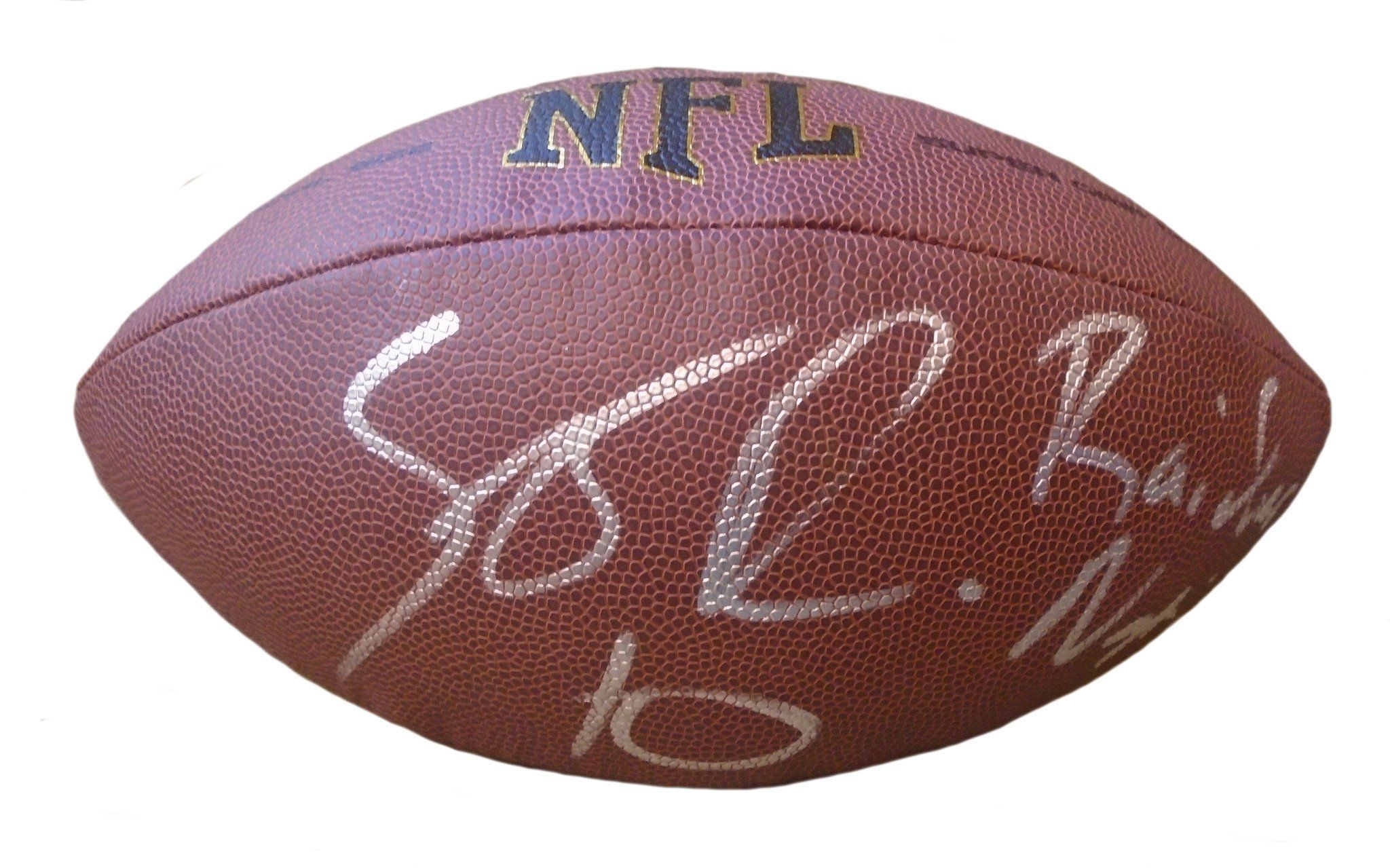 Seth Roberts Autographed NFL Wilson Composite Football w
