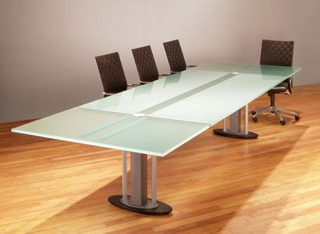Beautiful Our Multiple Pedestal Conference Room Tables Use A Unifying Rail Structure  To Hold Large Stone Or Glass Table Tops For Custom Boardroom Tables.