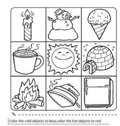 hot_or_cold_activity_worksheet_opposites (5) | Science ...