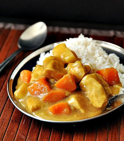 Easy Japanese Curry I Am Going To Make My Kitchen Into My Personal Coco Ichibanya Chicken Vegetable Curry Curry Recipes Chicken And Vegetables