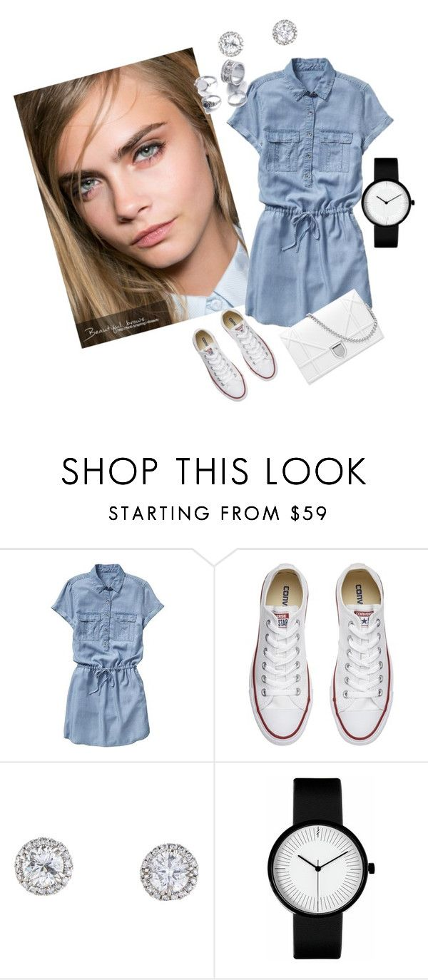 """Casual"" by megeller ❤ liked on Polyvore featuring Gap and Converse"