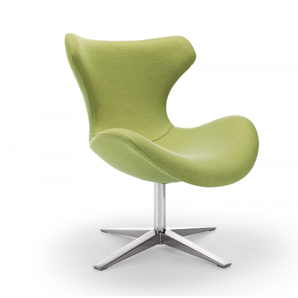 Lovely Buy MAYA   Swivel Modern Green Accent Chair With Metal Frame, Stainless  Steel Legs With Beautiful Fabric At Creative Furniture Store.