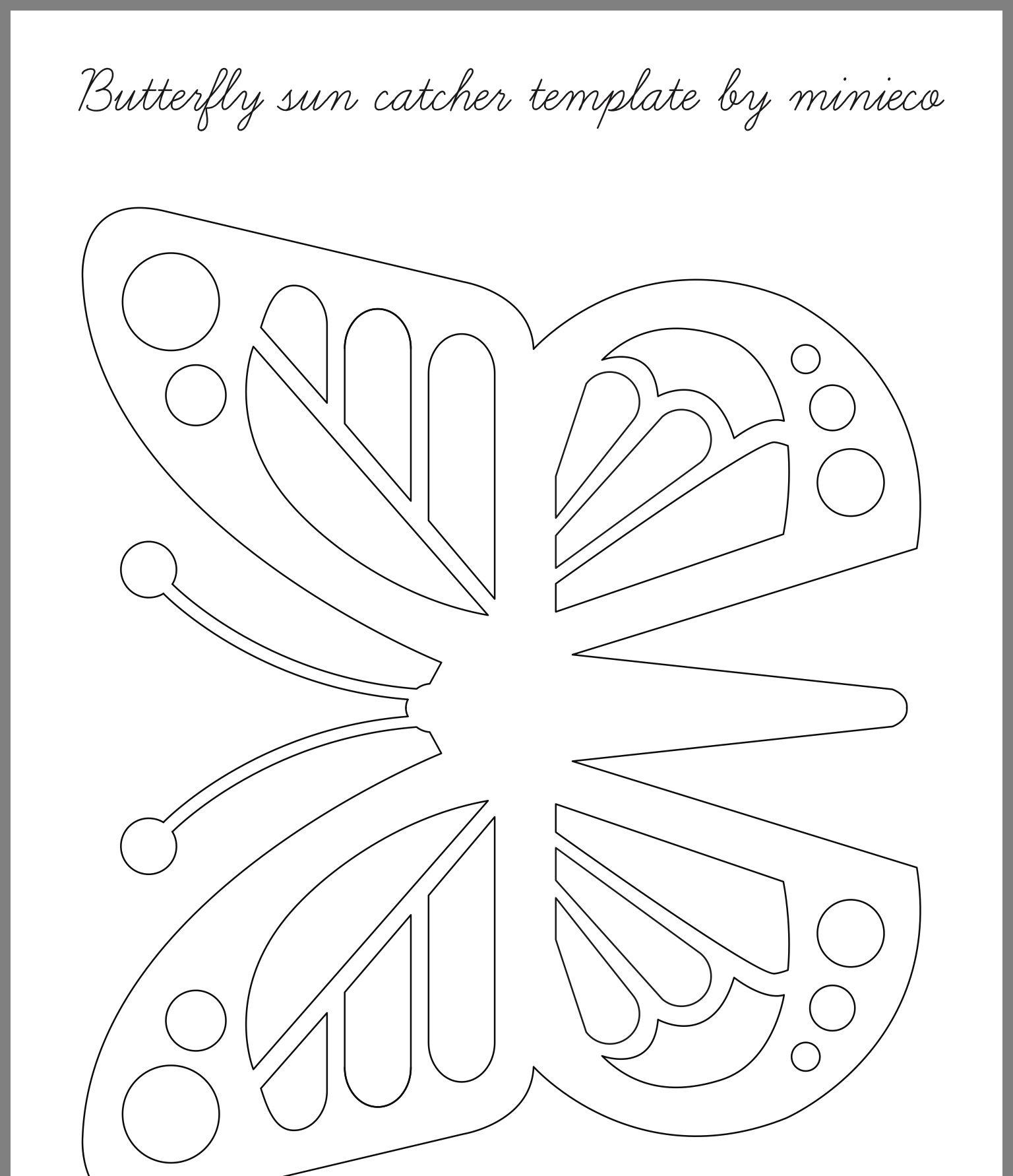 Pin By Marja De Haan On Vlinder Feestje Paper Butterflies Butterfly Template Colorful Butterflies