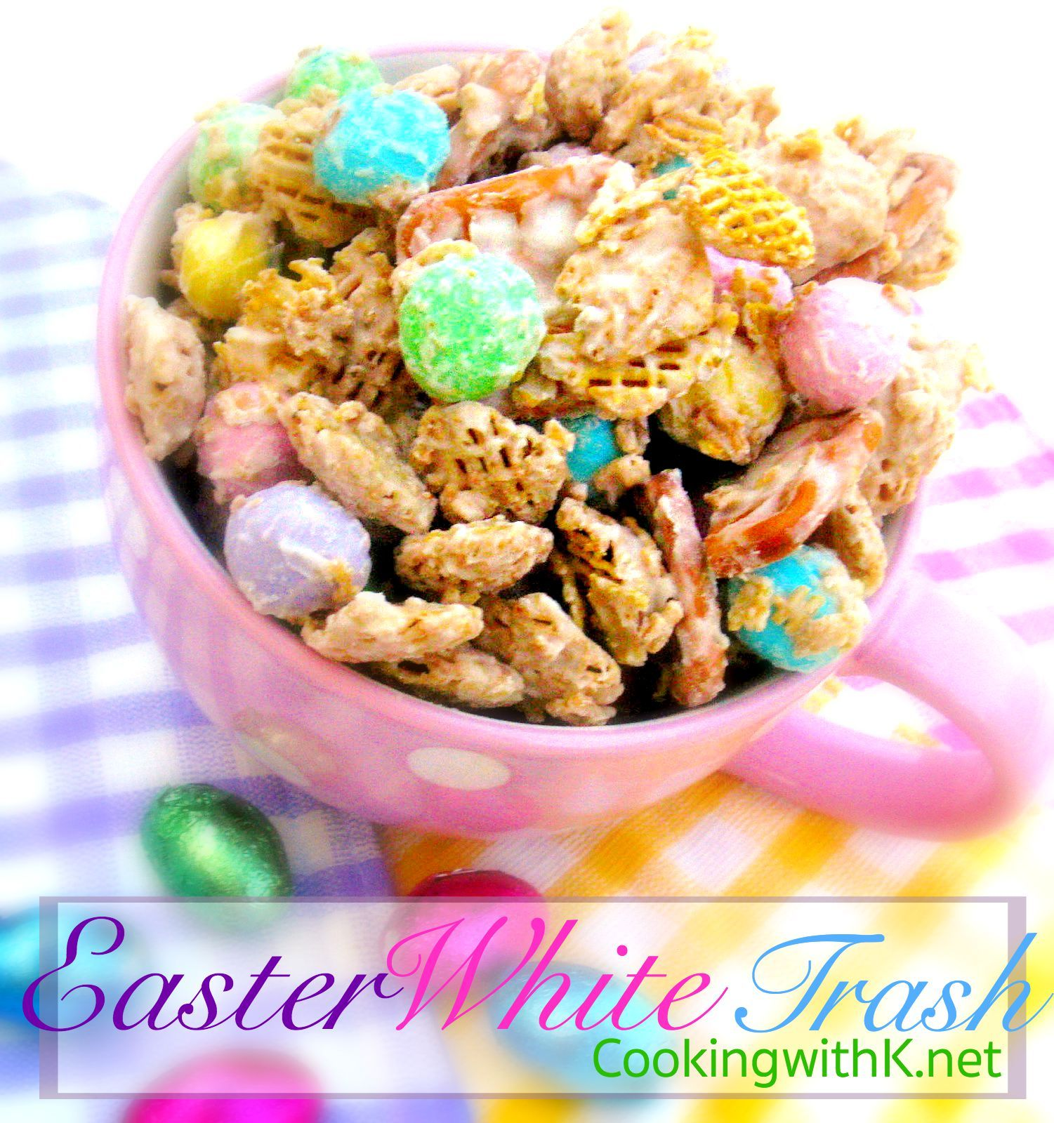 Easter white trash and cute gift bags negle Image collections