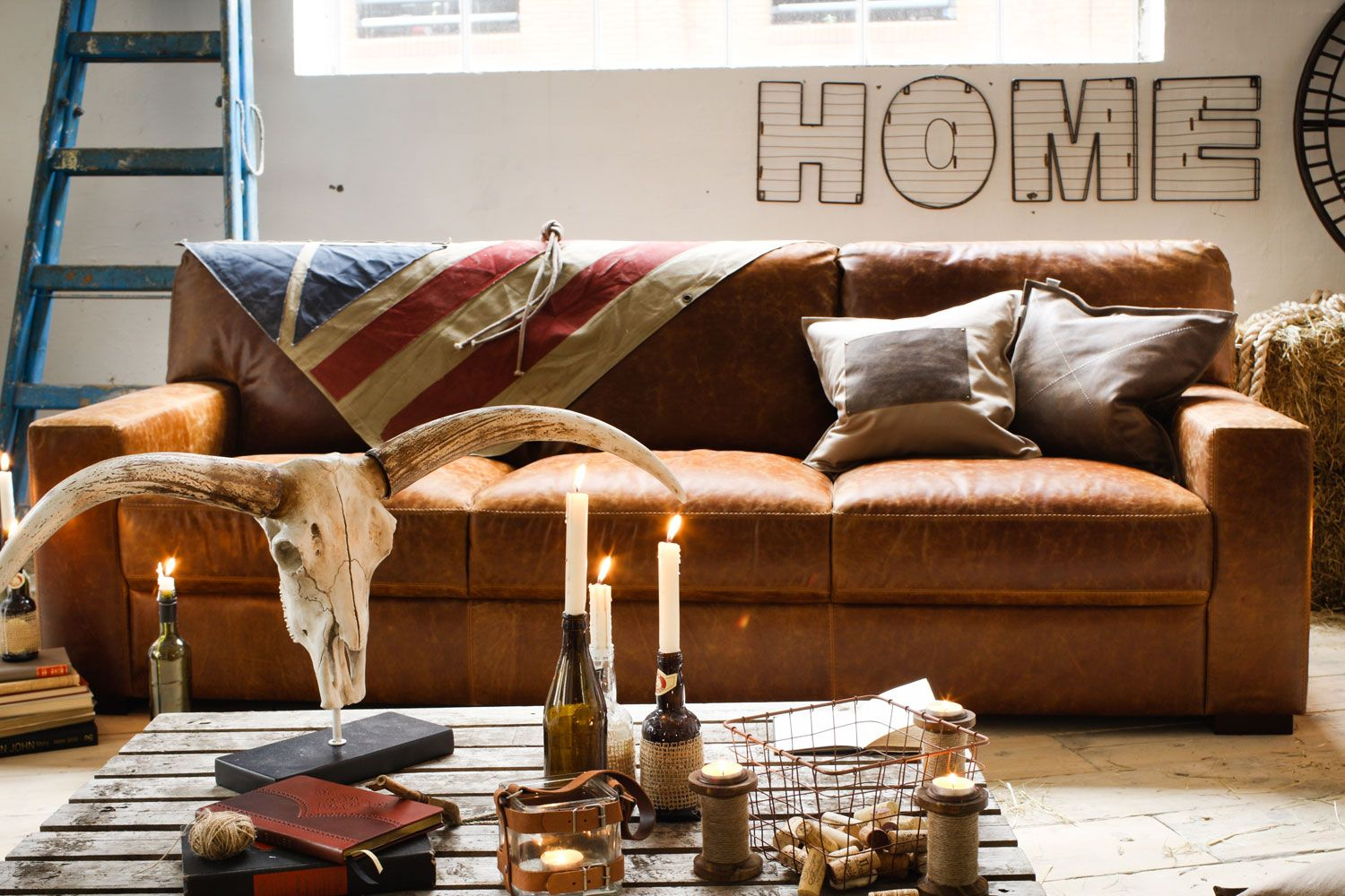 Bedford 3 Seater Sofa from Harvey Norman Ireland | Leather ...