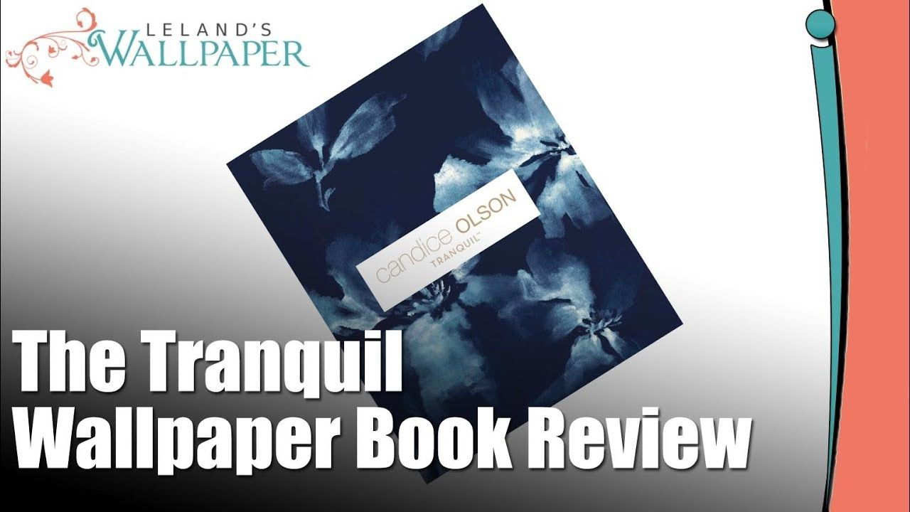 Review Of The Tranquil Wallpaper Book By Candice Olson Wallpaper Book Wallpaper Books
