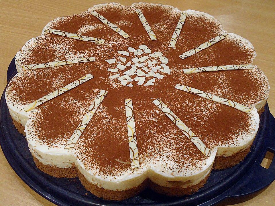 Manus leichte Tiramisu -Torte, ein beliebtes Rezept aus der Kategorie Torten. Bewertungen: 54. Durchschnitt: Ø 4,6.