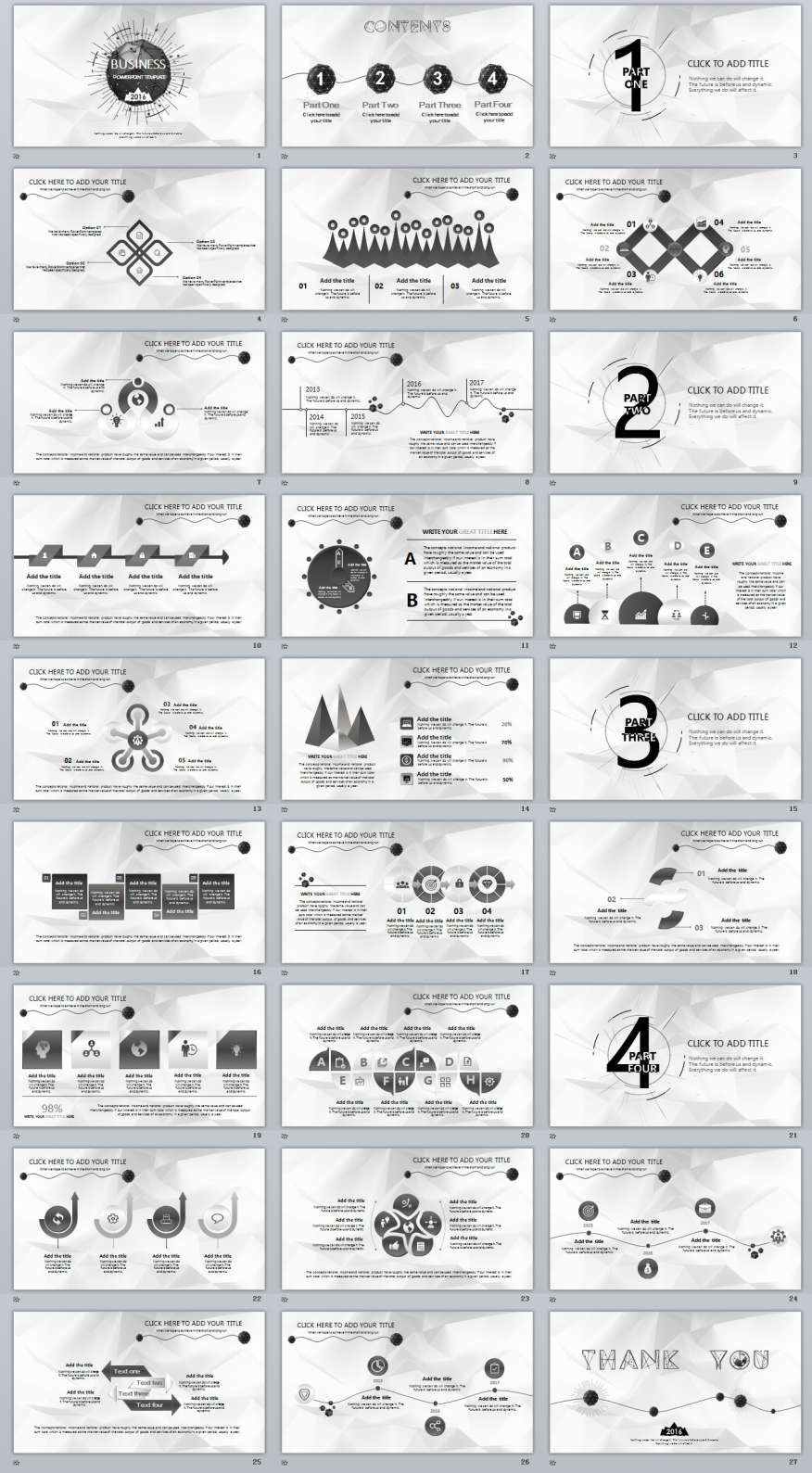 27 simple business powerpoint template business powerpoint 27 simple business powerpoint template wajeb Gallery