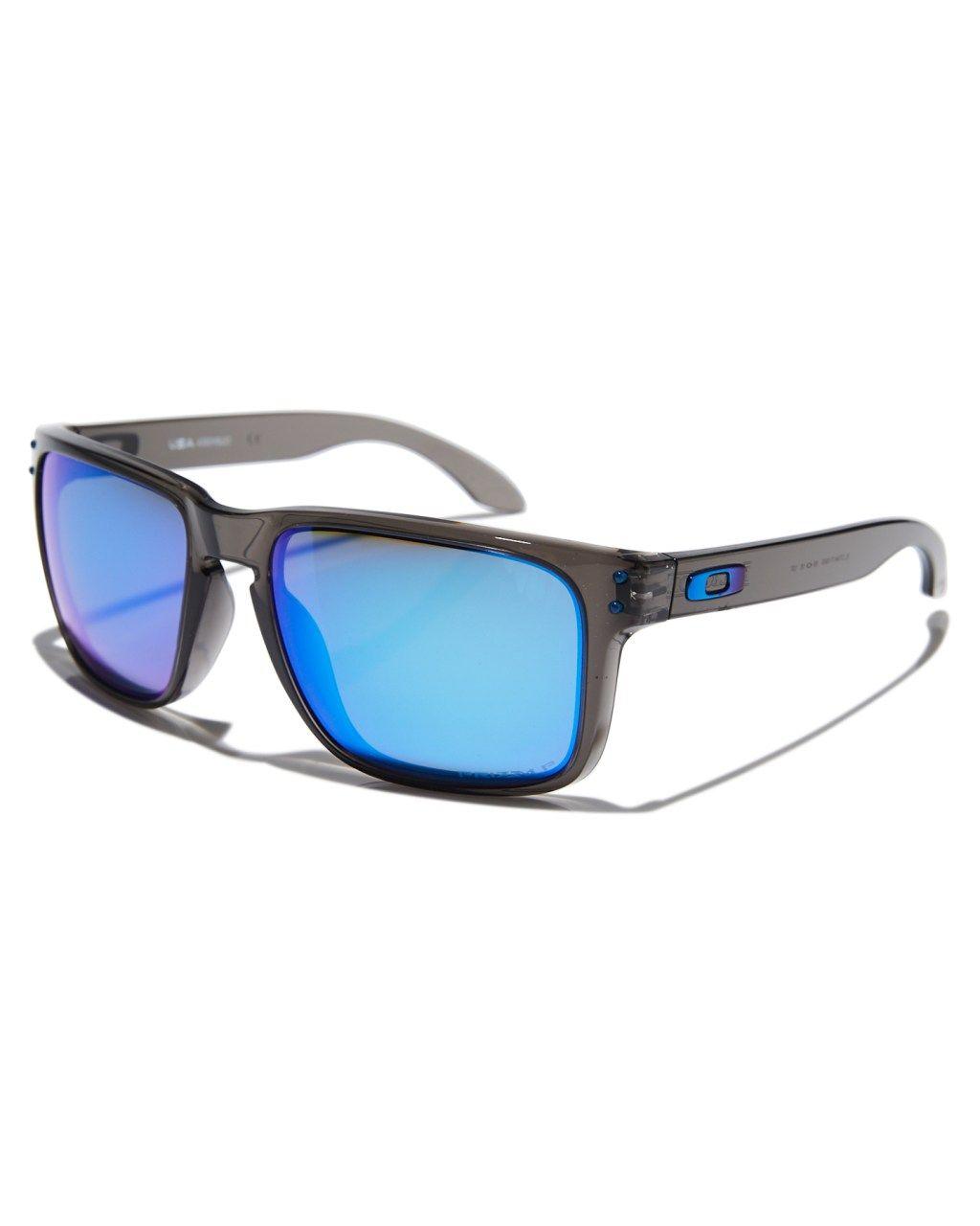 24c9bb284 Oakley Holbrook Xl Polarized Sunglasses Grey Smoke Prizm Mens sunglasses  Size
