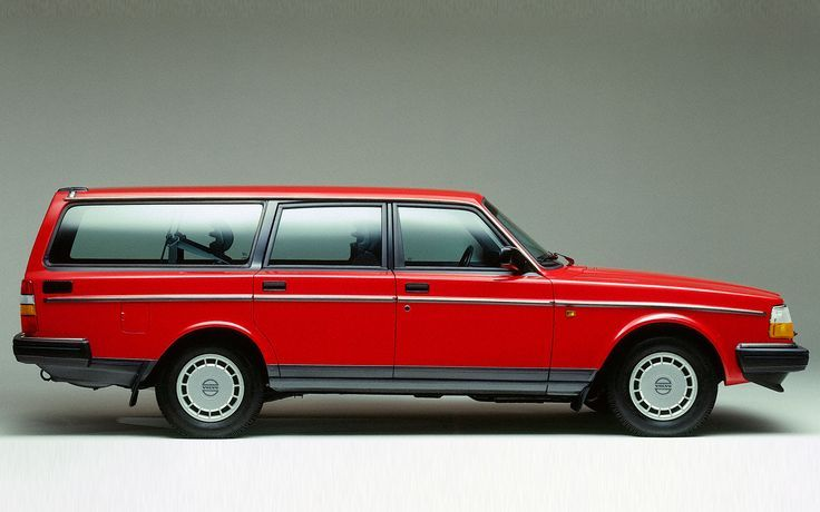 red 240 dl volvo station wagon google search volvo 245 rh pinterest com