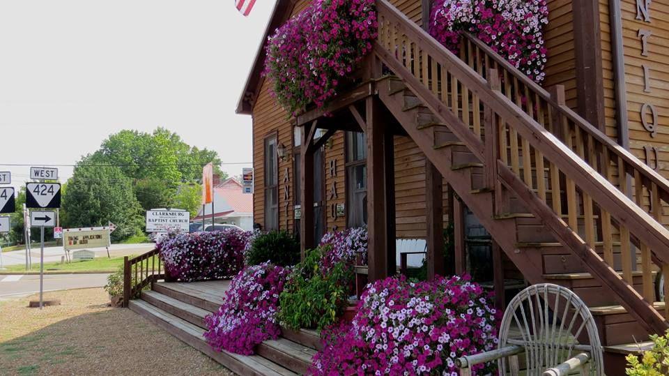 Side of Oma's Antik Haus Summer 2014