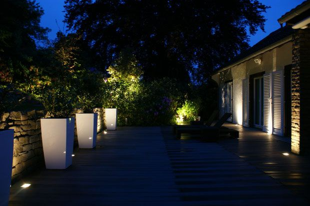 Wpc Terrasse Mit Beleuchtung Gartengestaltung Gelbrich Wuppertal