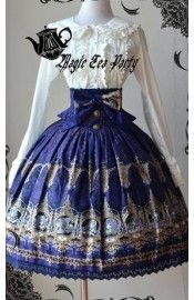 Magic Tea Party Zodiac High Waist Skirt