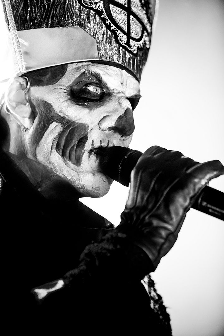 Papa Emeritus Ii Ghost Photographer Jarle H Moe Ghost