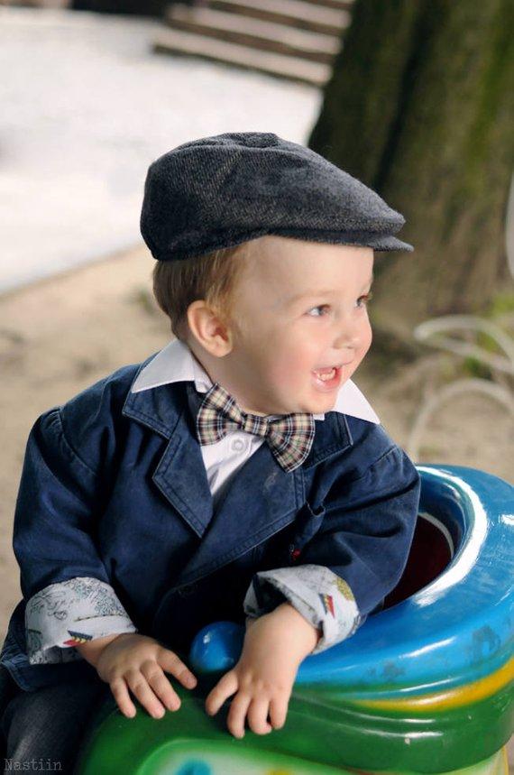 d44231f05 Boys newsboy hat gray Toddler newsboy cap Grey newsboy hat Baby boy newsboy  hat Infant hat Page boy