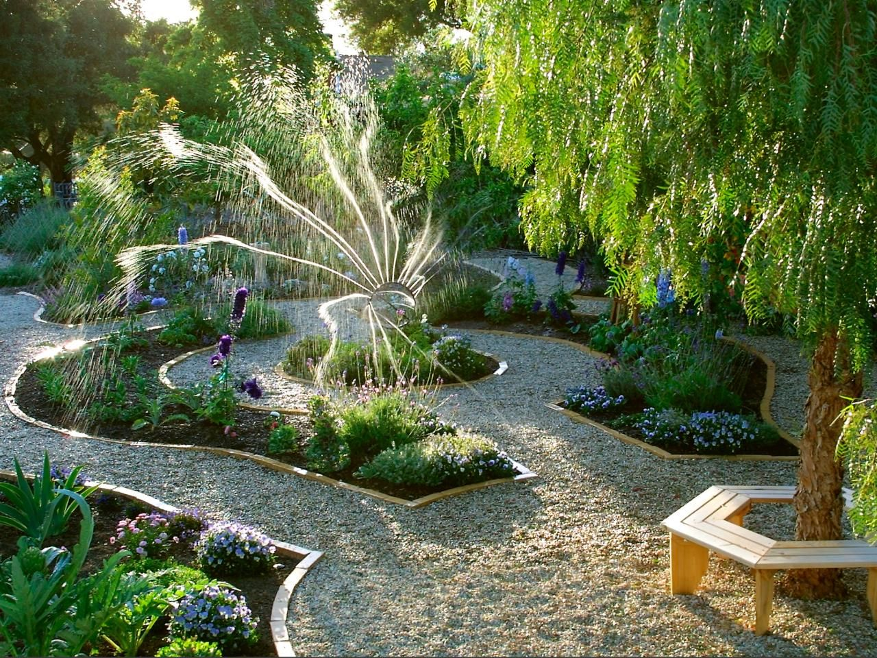 Vegetable Garden Ideas Layout Walkways
