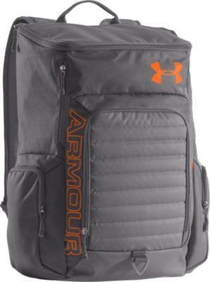 8b369cde62 Under Armour VX2-Undeniable Backpack Graphite Graphite Blaze Orange - via  eBags.com!