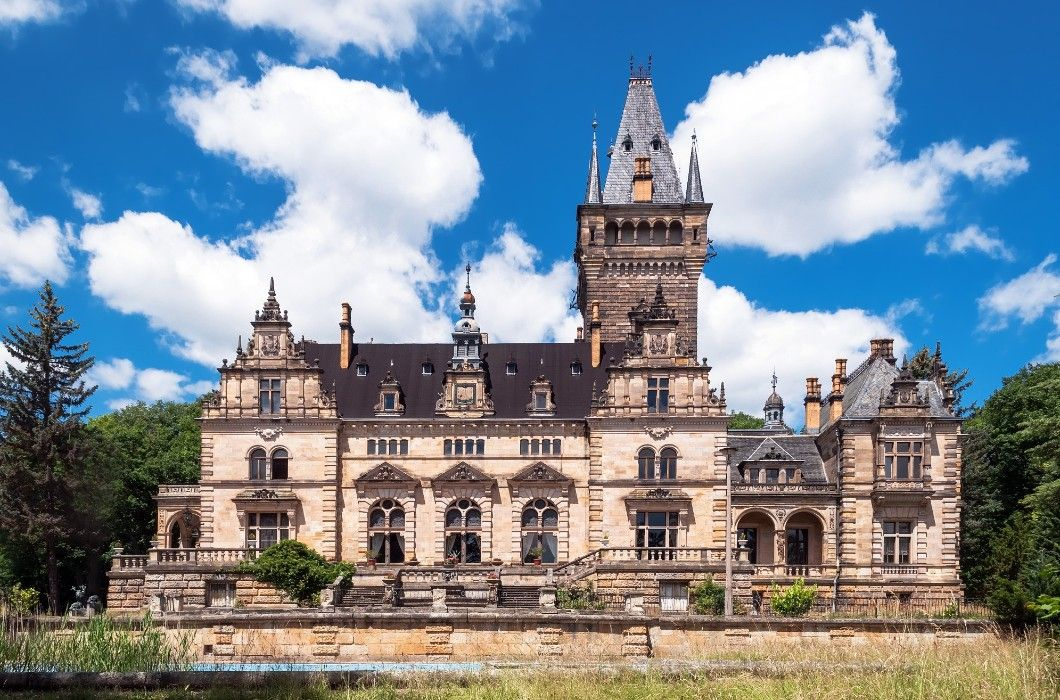 Jagdschloss Hummelshain Jagdschloss Schloss Anwesen