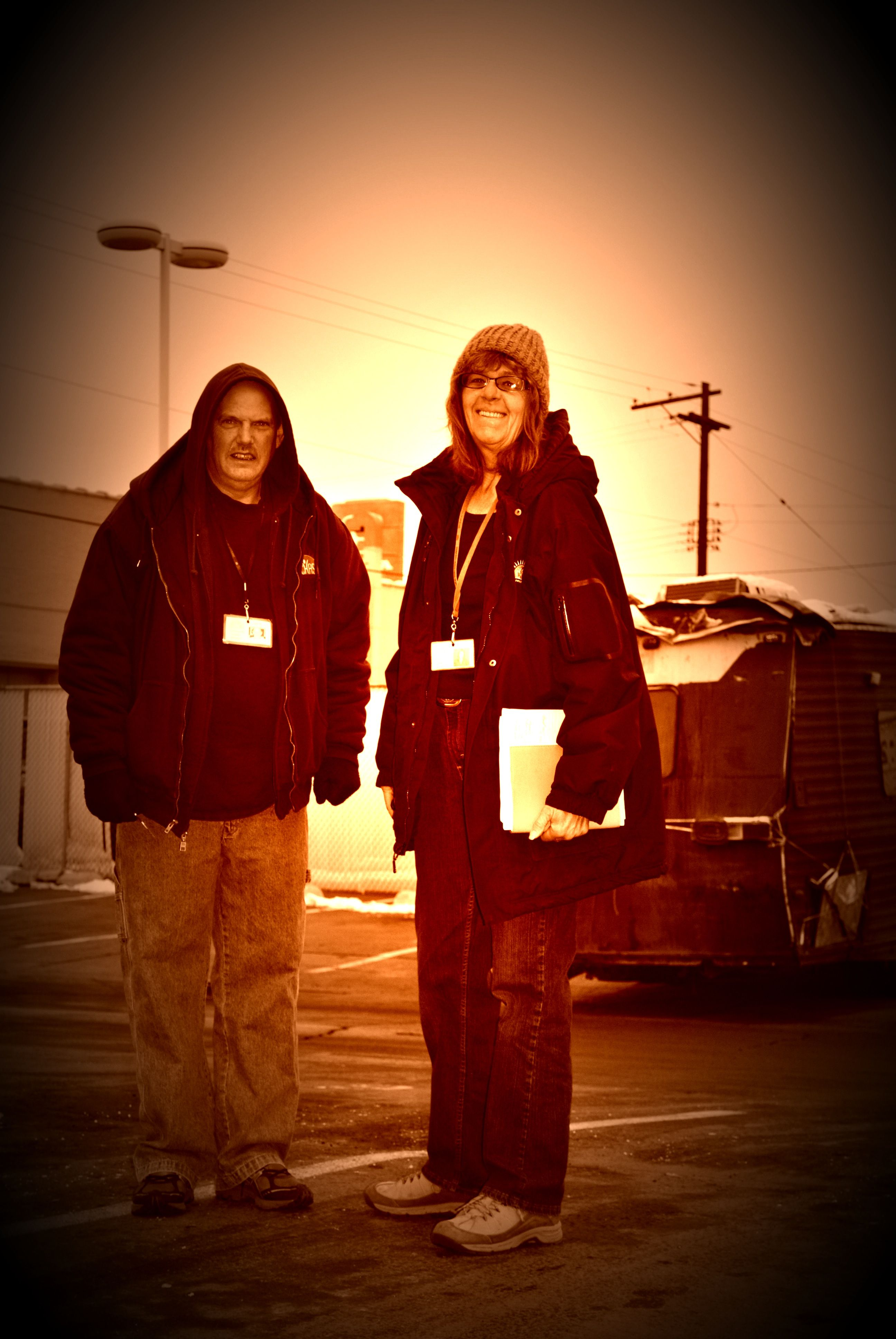 At chas we have a pretty amazing homeless outreach team