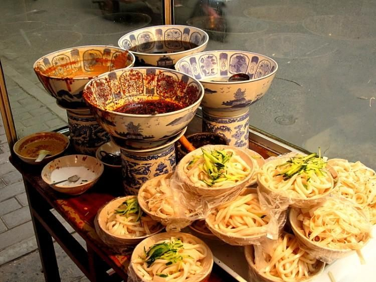 Xian Culinary Tour For Century Old Dishes And Snacks Street Food Market Street Food Maggi Recipes