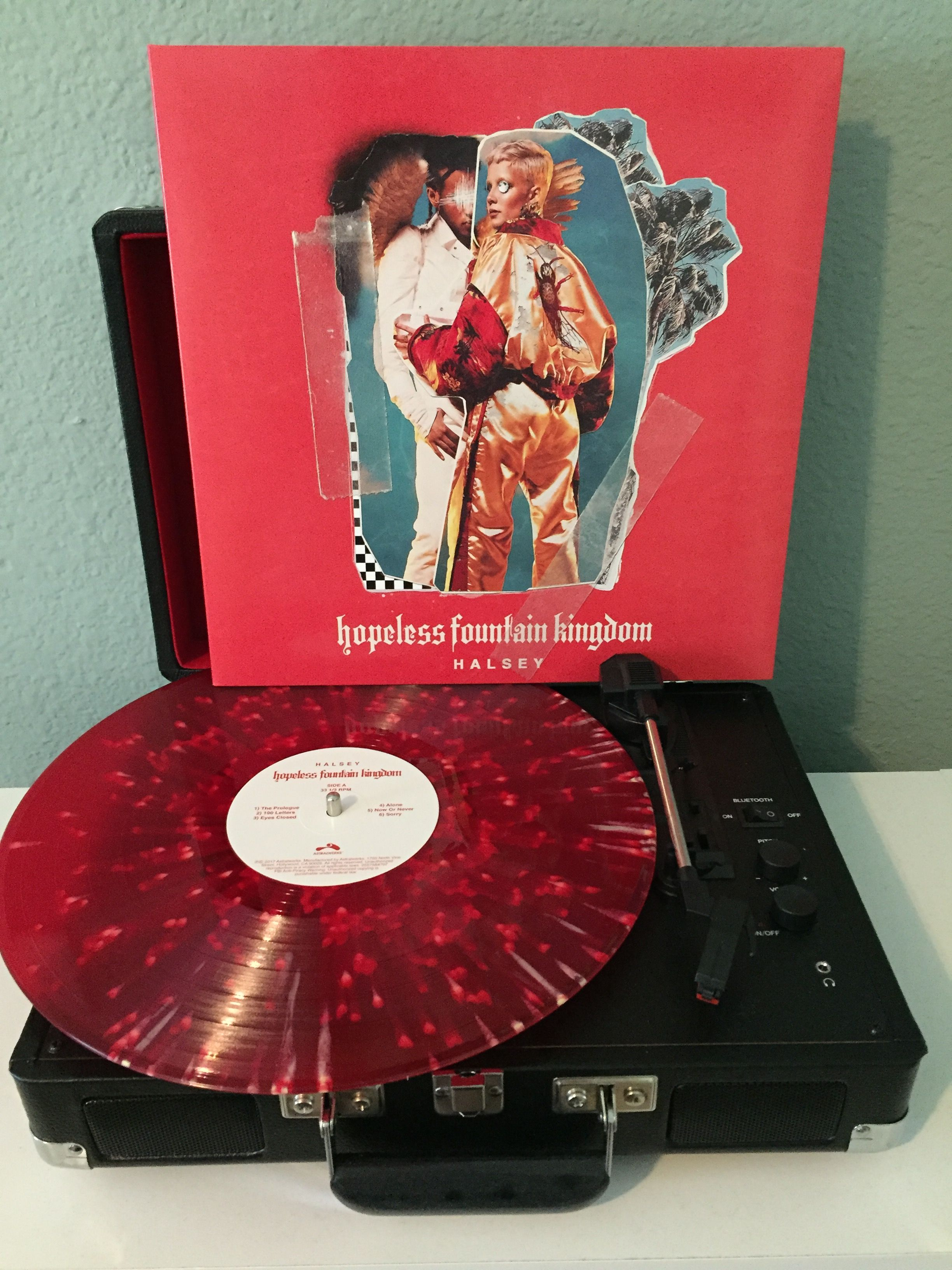 Halsey Hopeless Fountain Kingdom Indie Record Store Exclusive Pressing Photo By Saturnbaby666 Hopeless Fountain Kingdom Vinyl Music Vintage Records