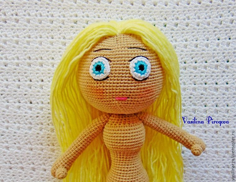 Amigurumi Russian Doll Pattern : How to make a face doll step by step instructions in russian