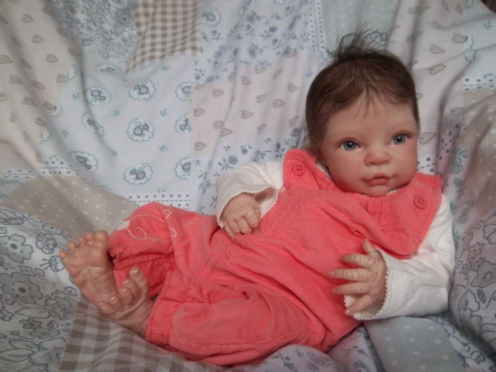 Reborn baby girl olive by denise pratt now baby evie