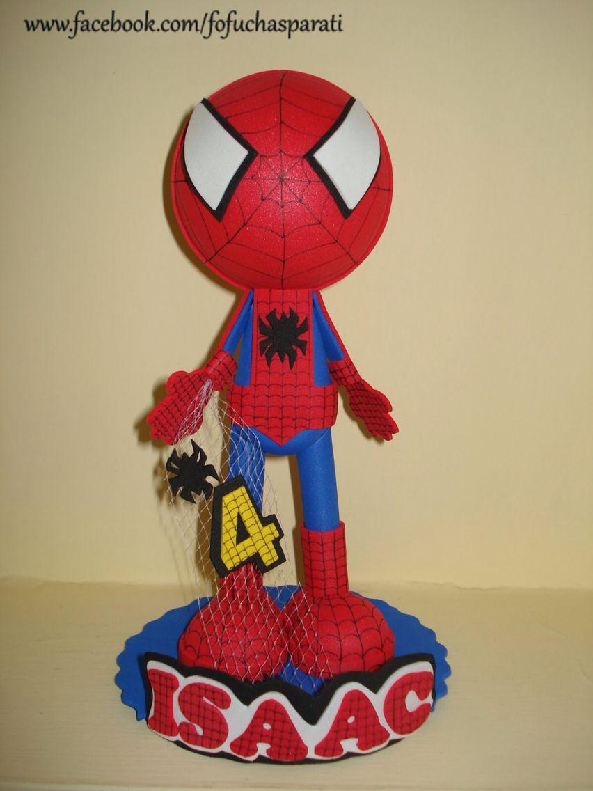 Hombre araña fofucho